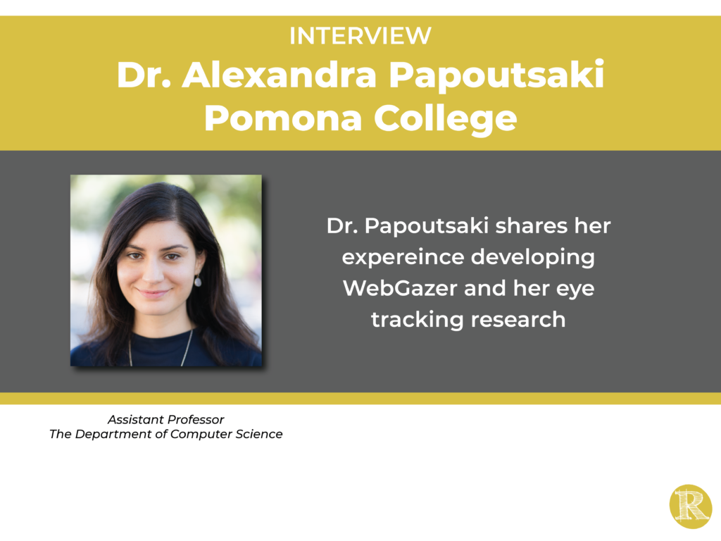 Interview with Dr. Alexandra Papoutsaki
